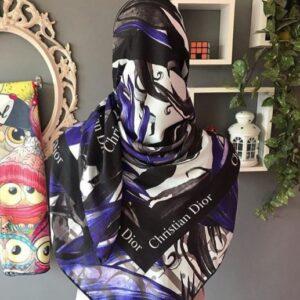 روسری طرح Dior