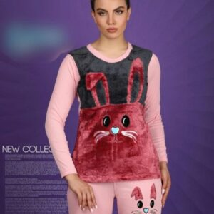 ست زنانه زمستانه مدل خرگوش