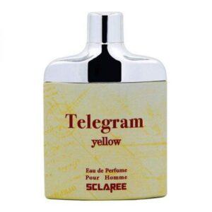 ادکلن مردانه اسکلاره مدل Telegram Yellow