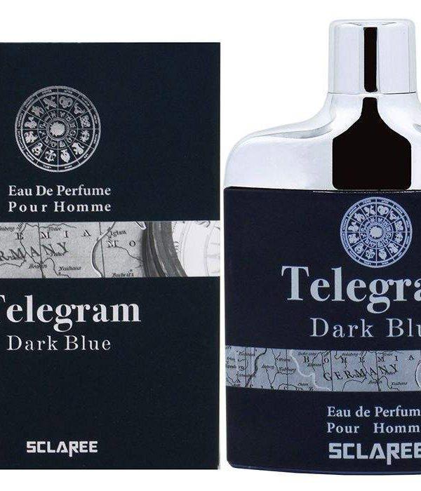 ادو پرفیوم مردانه اسکلاره مدل Telegram Dark Blue حجم 82 میلی لیتر