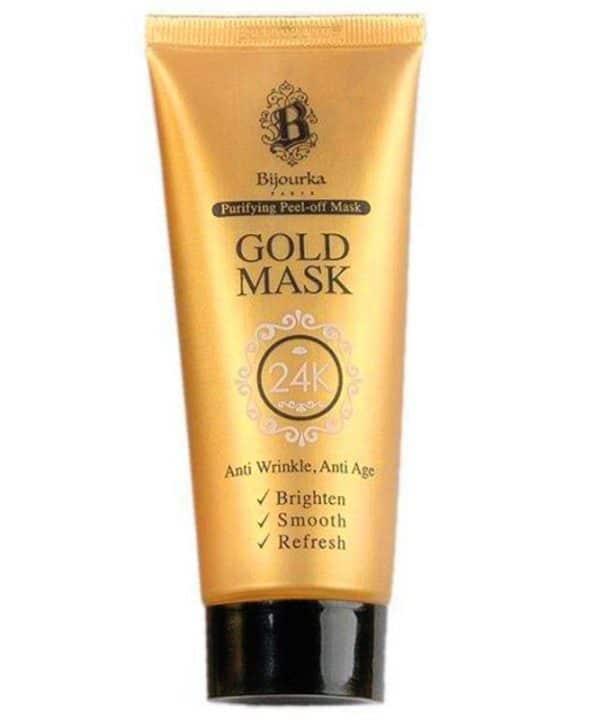 ماسک صورت طلا بیجورکا حجم 75 میل