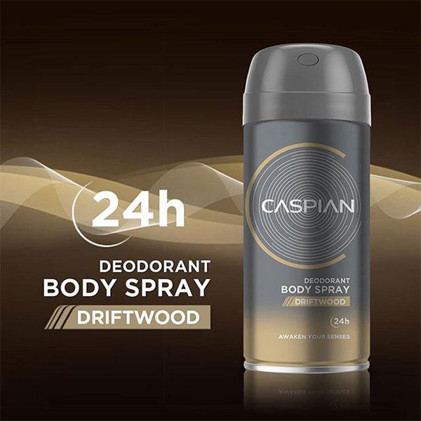 اسپری بدن مردانه کاسپین مدل دریفت وود