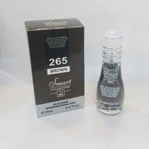 عطر جیبی مردانه اسمارت کالکشن 265 مدل دانهیل قهوه ای