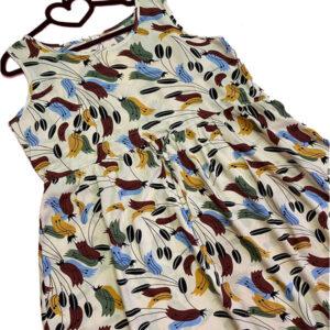 پیراهن کوتاه زنانه جنس تمام نخ کد 003