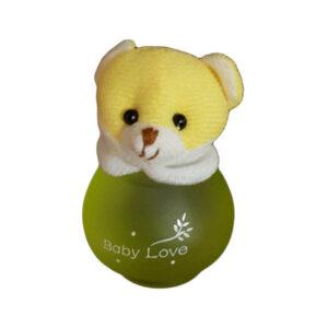 عطر عروسکی خرس زرد بیبی لاو