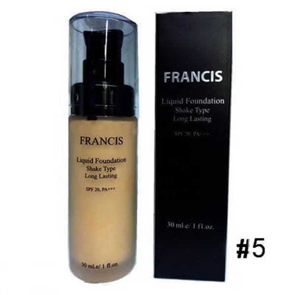 کرم پودر فرانسیس مدل Liquid Foundation شماره 5