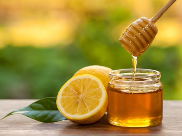 ماسک عسل و لیمو