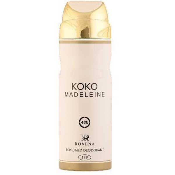 اسپری زنانه روونا مدل KOKO MADELEINE