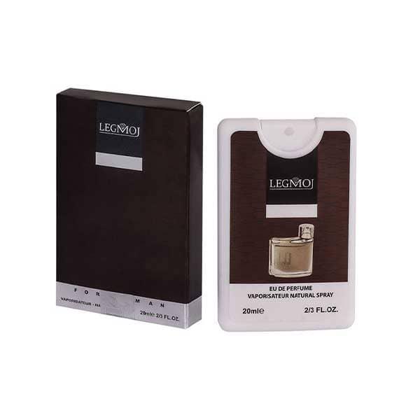 عطر جیبی مردانه لگموج دانهیل قهوه ای
