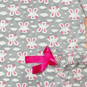 ست بلوز و شلوار راحتی زنانه طرح خرگوش